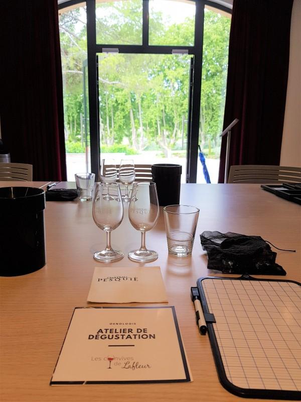 Atelier de dégustation - Les Convives de Lafleur - Mormoiron